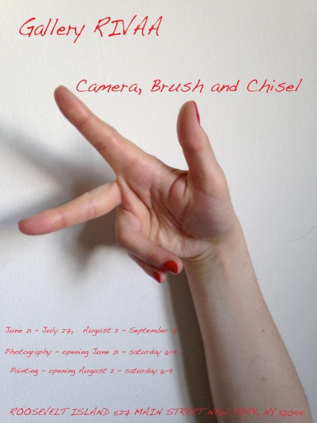 Camera, Brush & Chisel