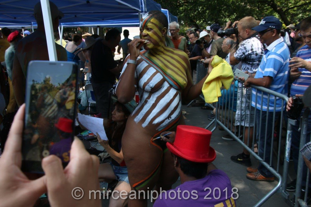 2018 NYC Bodypainting Day
